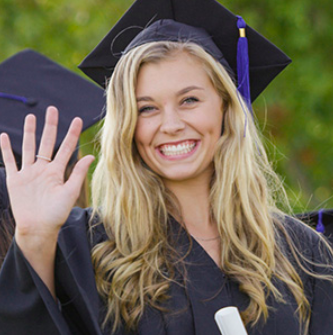 Caps, Gowns and Smiles for High School Graduation